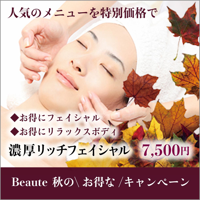 秋キャンペーンバナー